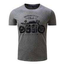 Motorcycle Print T Shirt