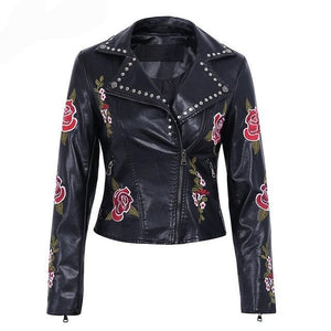 Simplee  Embroidery Floral  Jacket - Edward Coy