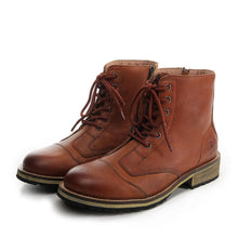 ARCX Road Knight Leather Boots - Edward Coy