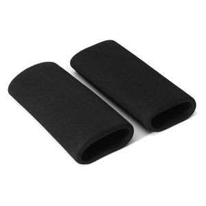 1Pair Black Universal Motorcycle Slip-on Grip Covers - Edward Coy