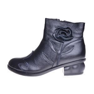 Genuine Leather Handmade Boots - Edward Coy