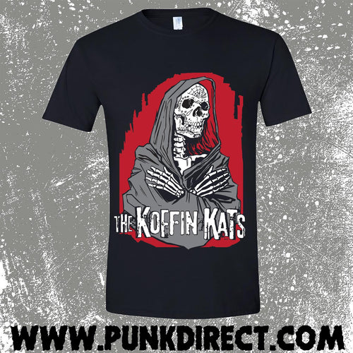 Koffin Kats- Praying Hands T-Shirt