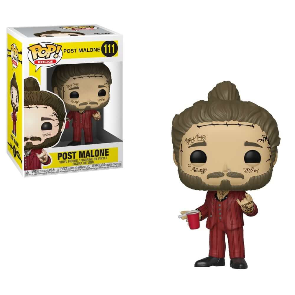 Funko Pop Rocks: Post Malone - Post Malone
