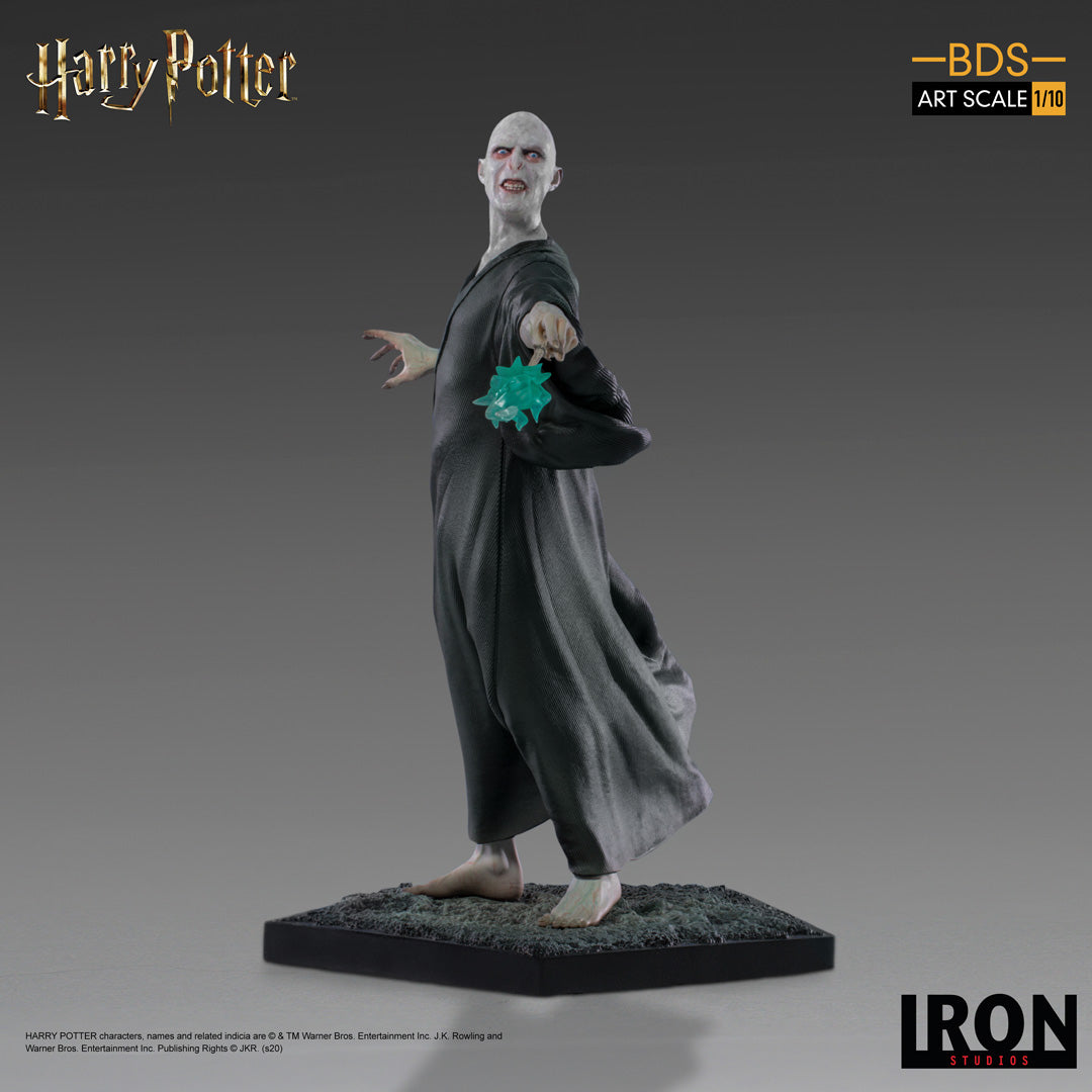 IRON Studios: Harry Potter Caliz de Fuego - Voldemort Escala 1/10