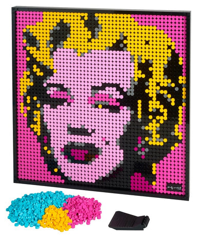 LEGO Art Andy Warhols Marilyn Monro 31197