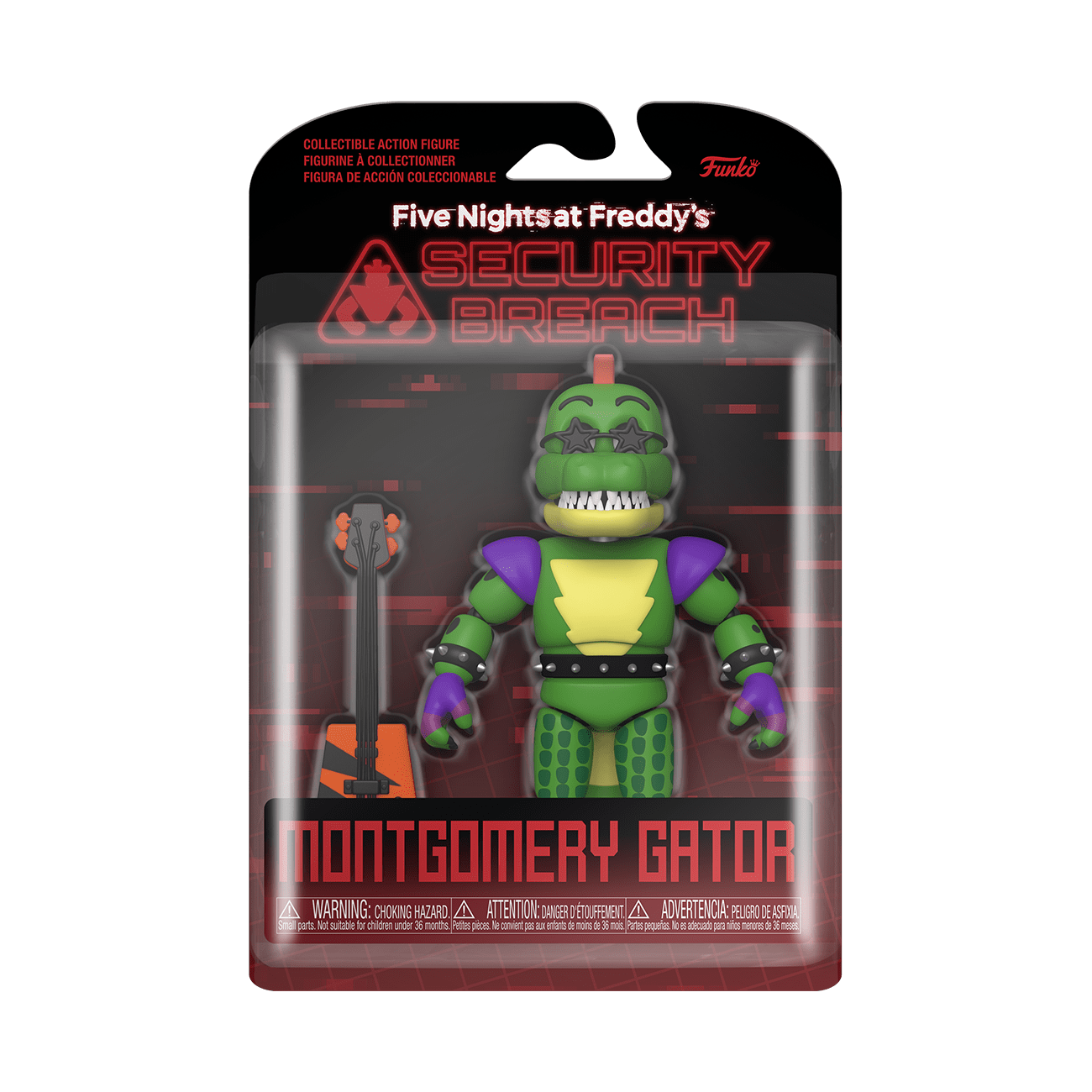 Funko Figura de Accion: Five Nights at Freddys Security Breach - Montgomery Gator