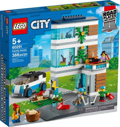 LEGO City Moderna Casa Familiar 60291