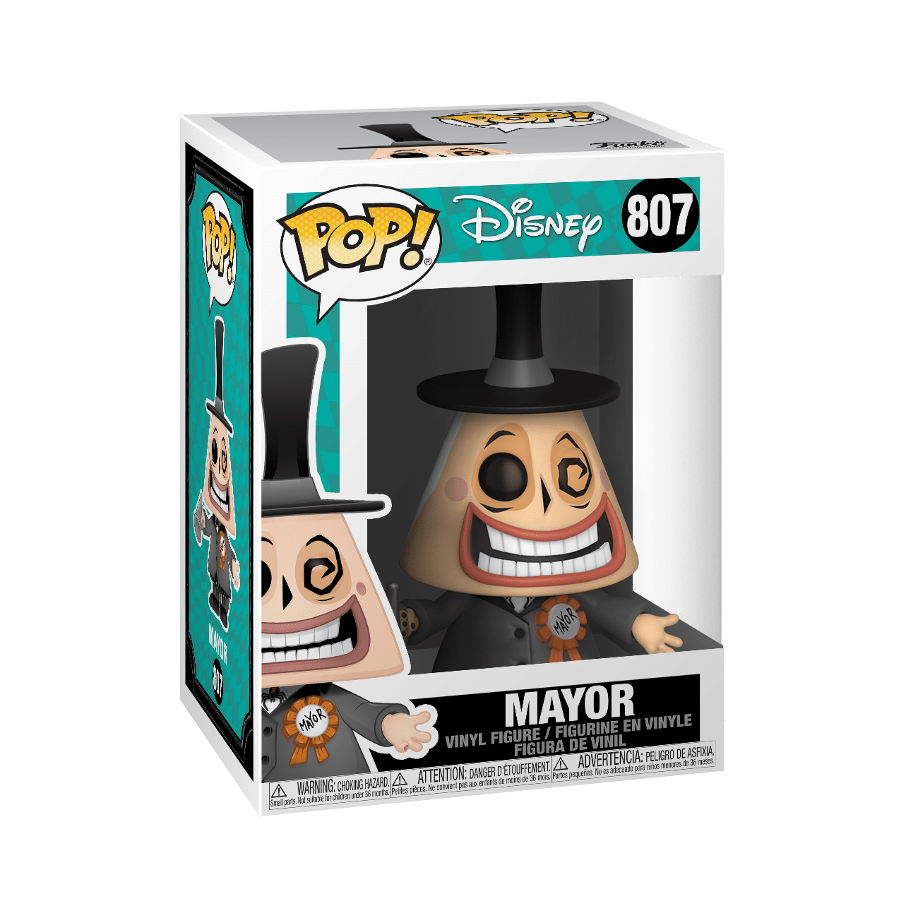 Funko Pop Disney: Mundo de Jack - Mayor con Megafono Halloween