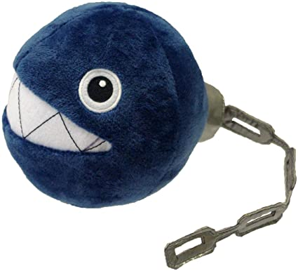 Little Buddy: Nintendo Peluche - Chain Chomp 6 Pulgadas