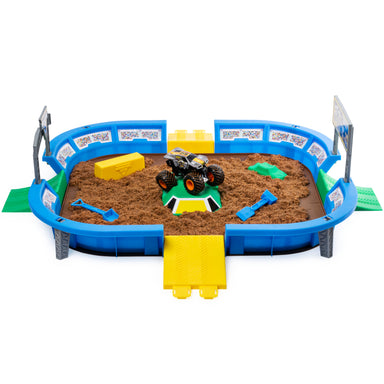Monster Jam: Set de Juego Monster Dirt Arena Kinetict Sand Refill
