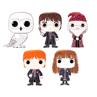 Funko Pop Pins: Harry Potter - Personajes Pin Esmaltado