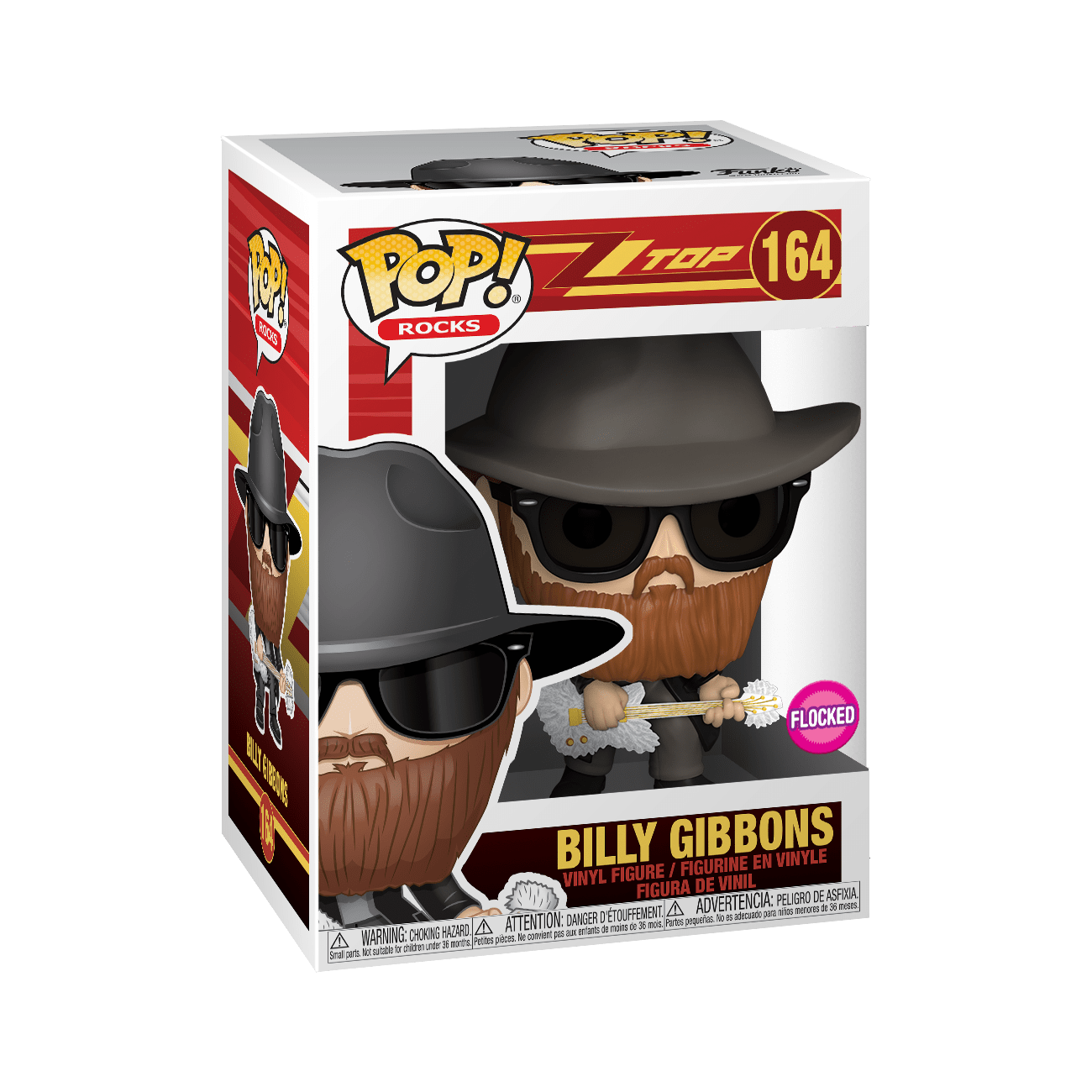 Funko Pop Rocks: ZZ Top- Billy Gibbons