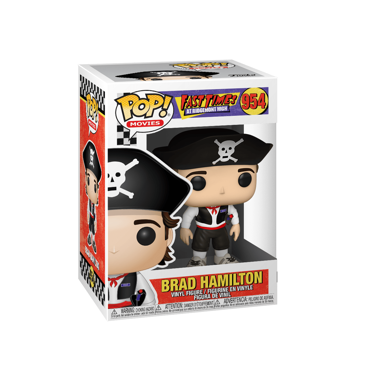 Funko Pop Movies: Fast Times at Ridgemont High - Brad Disfraz de Pirata