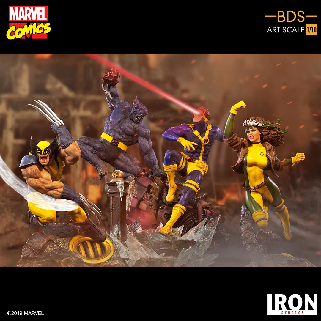 IRON Studios: X Men - Ciclope Escala 1/10