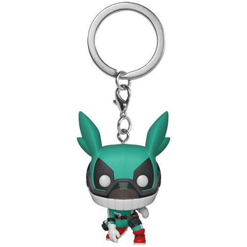Funko Pocket Pop Keychain: My Hero Acad - Deku Casco Llavero