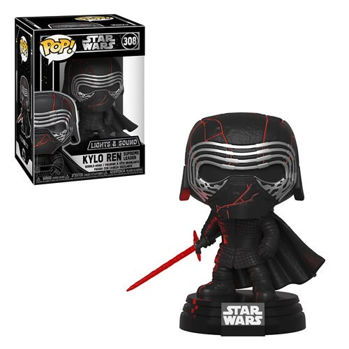 Funko Pop Star Wars: Ascenso de Skywalker - Kylo Electronico