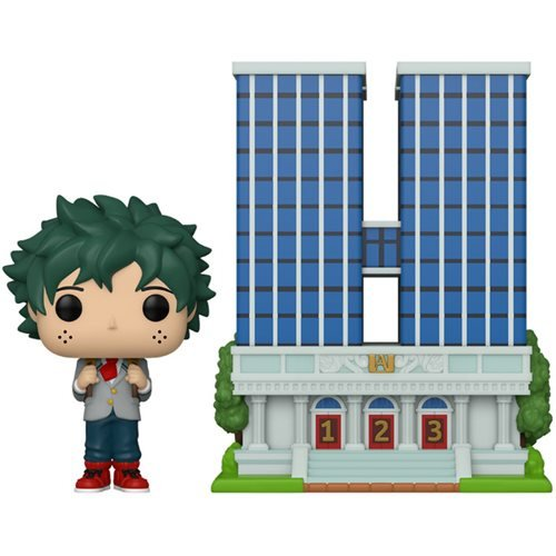 Funko Pop Town: My Hero Academia - Preparatoria con Deku