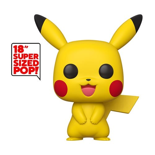 Funko Pop Games: Pokemon - Pikachu 18 Pulgadas