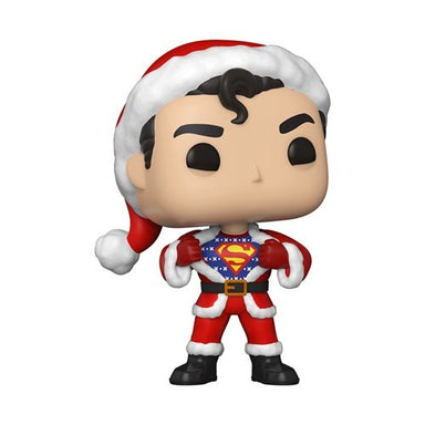 Funko Pop Heroes: DC Navidad - Superman con Sweater