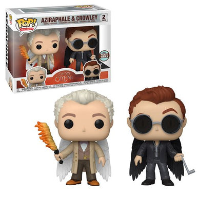Funko Pop Tv: Good Omens -  2 Pack Aziraphel y Crowley con Alas