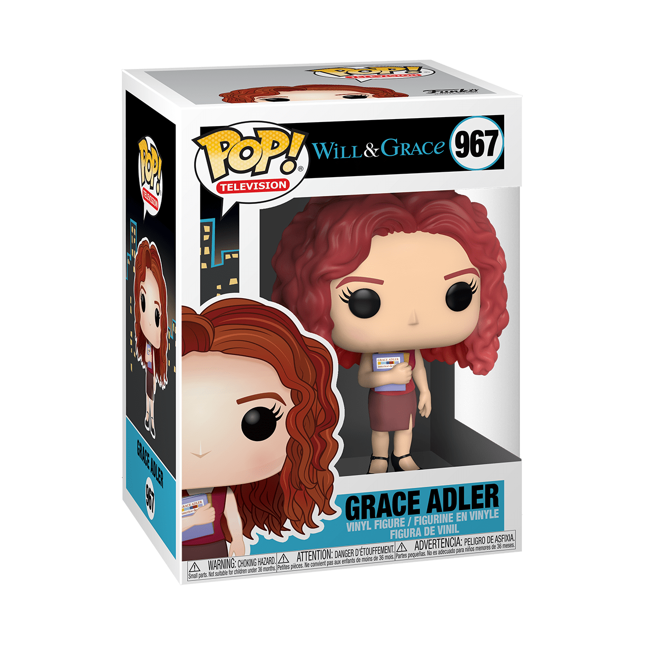 Funko Pop TV: Will y Grace - Grace Adler