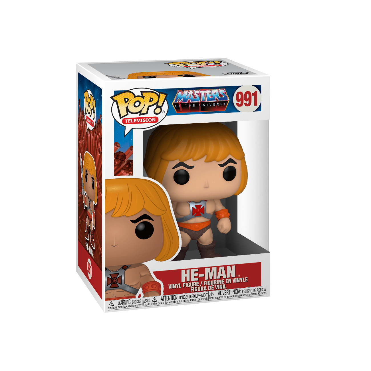 Funko Pop Animation: Los Amos del Universo - He Man