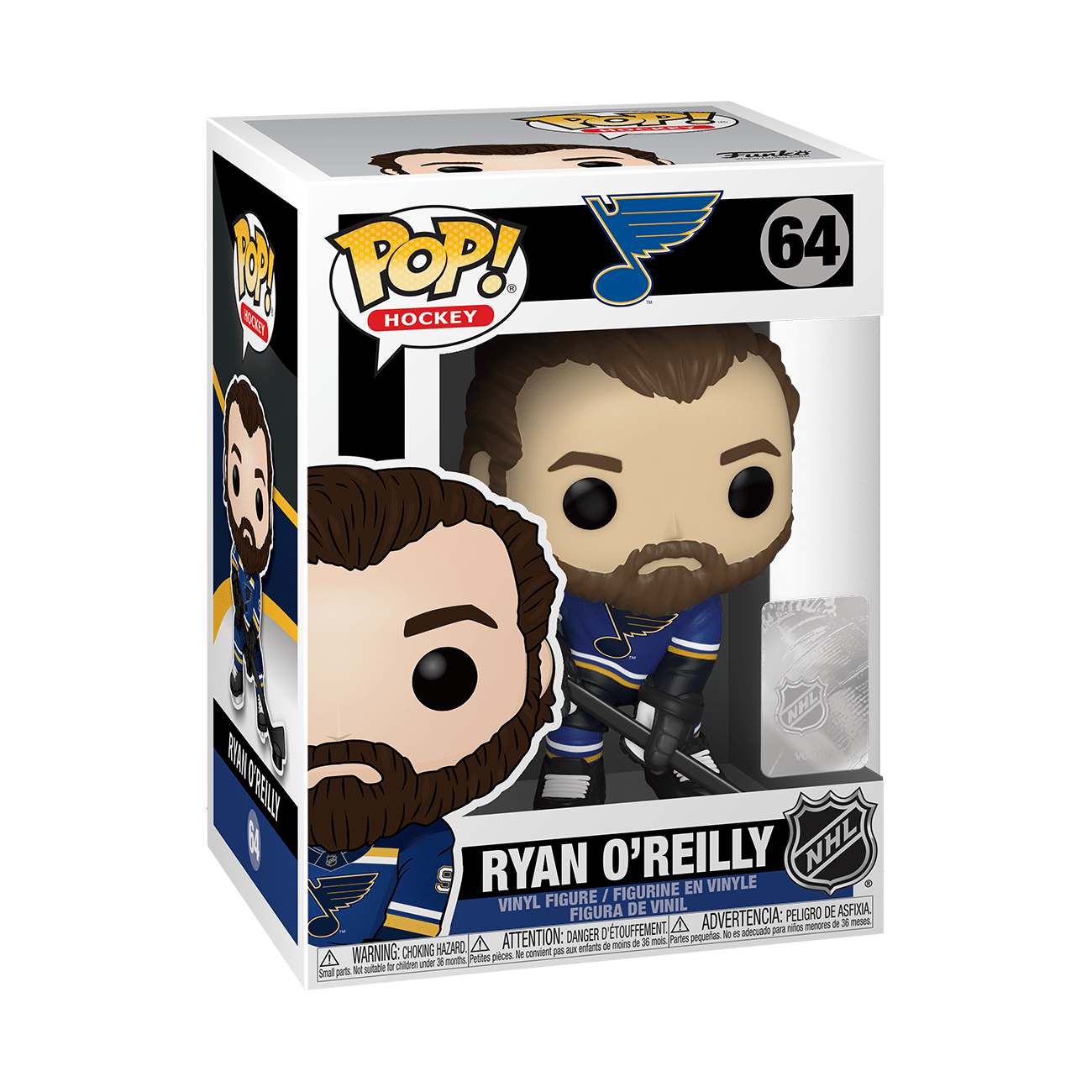 Funko Pop NHL: St.Louis Blues - Ryan O Reilly