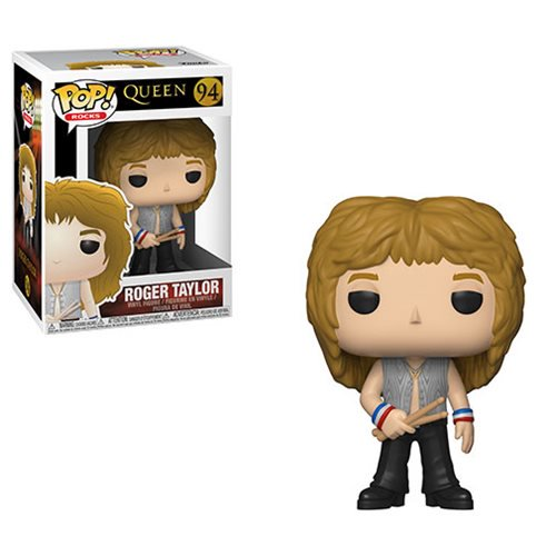 Funko Pop Rocks: Queen - Roger Taylor