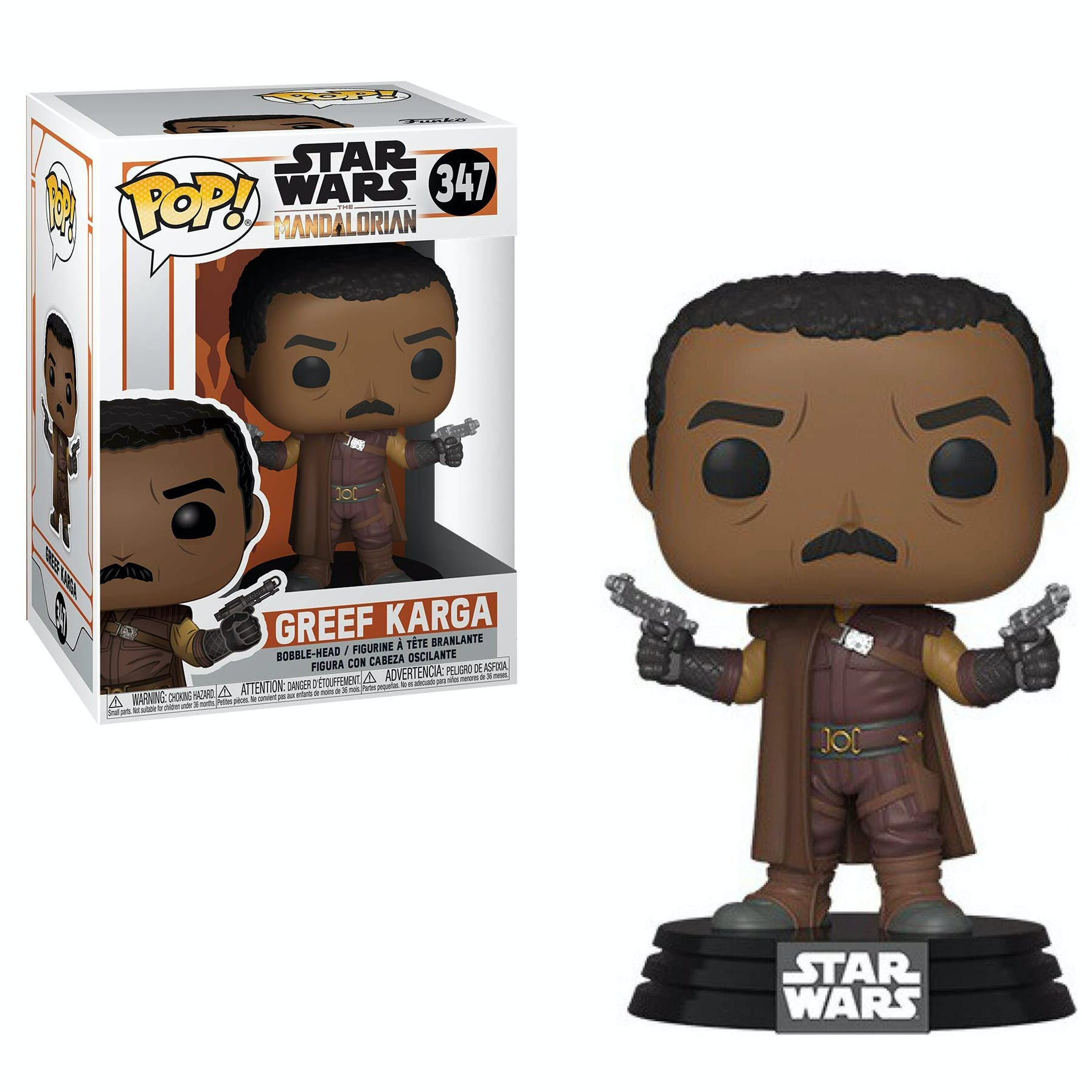 Funko Pop Star Wars: Mandalorian - Greef Karga