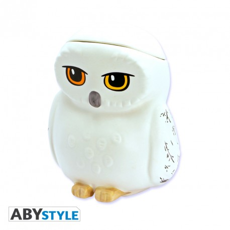 ABYStyle Harry Potter - Taza 3d Hedwig