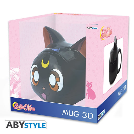 ABYstyle Sailor Moon - Taza 3D Luna