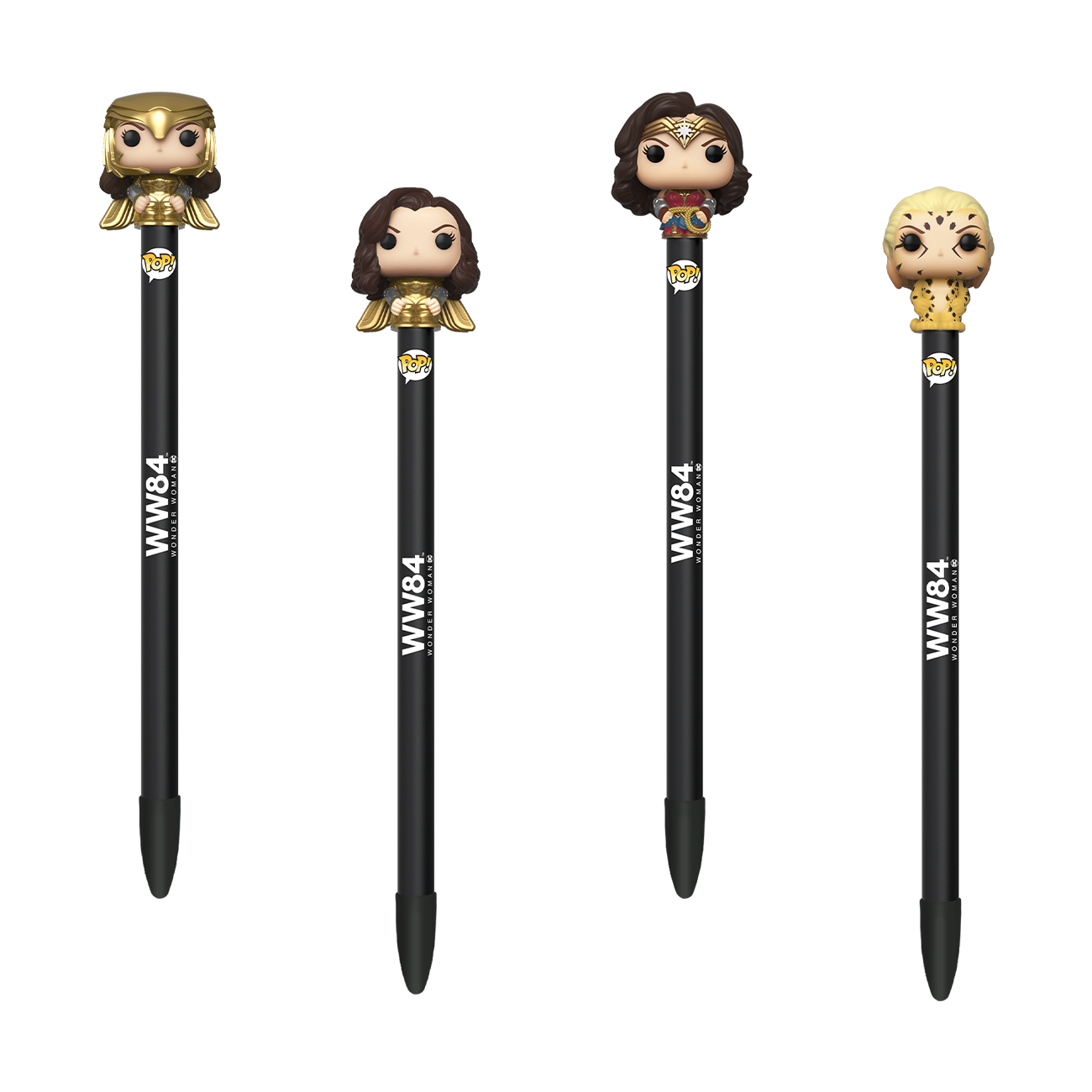 Funko Pen Toppers: Wonder Woman 1984 - Plumas