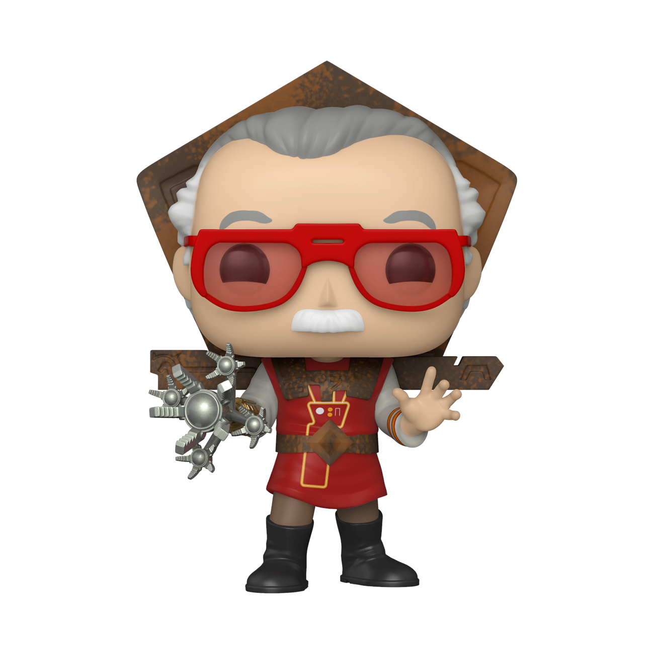 Funko Pop Iconos: Stan Lee en Atuendo de Ragnarok