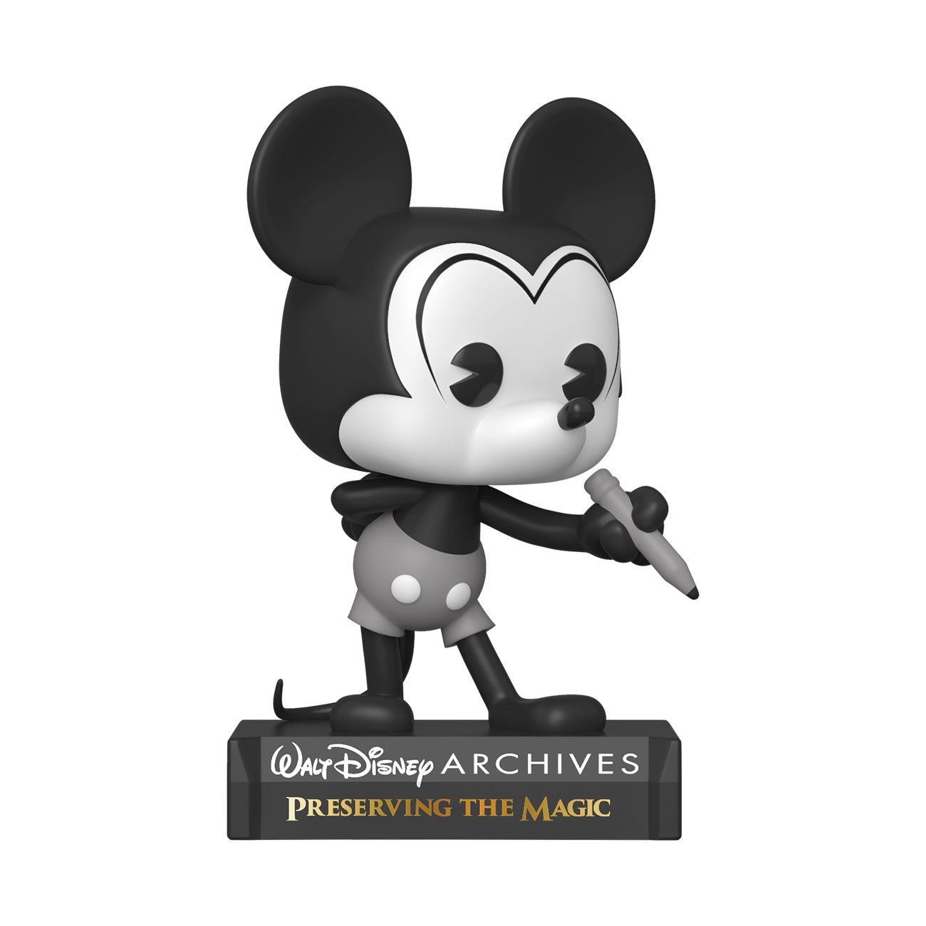 Funko Pop Disney: Archivos - Mickey Mouse Blanco y Negro