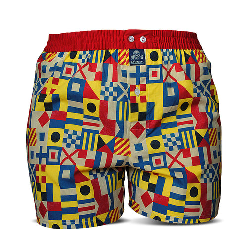 Nautical Flag Boxer Shorts