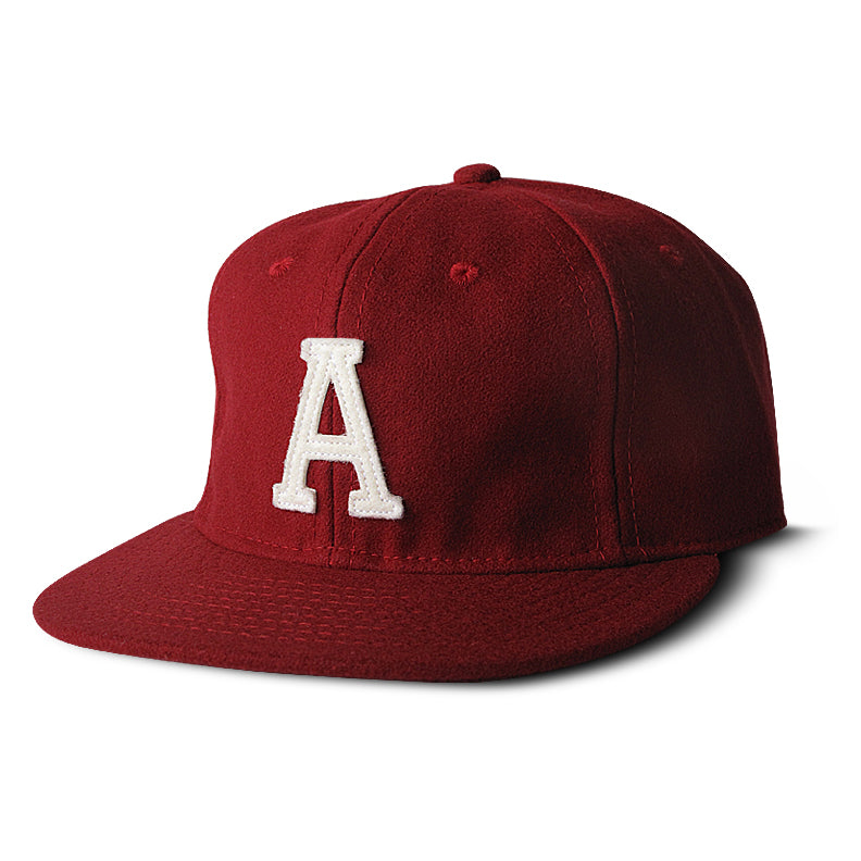 Red Wool Ivy League Sports Cap