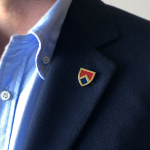 Shield Lapel Pin