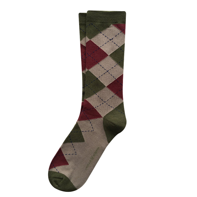 Sinclair Argyle Socks