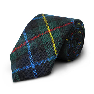 Smith Modern Tartan Wool Tie