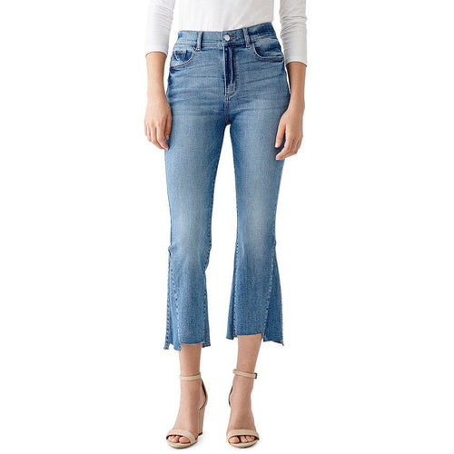 Bridget Cropped High Rise Bootcut Jean Ludgate