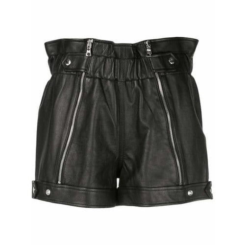 Louie Leather Shorts