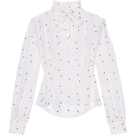 Daria Blouse Grey Stars