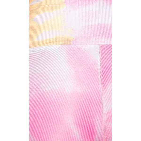 Bike Short Pink/Orange Tie Dye