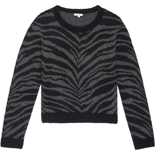 Chance Charcoal Tiger Stripe