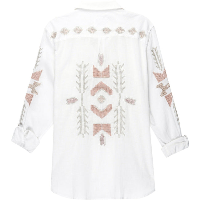 Charli Tulum Embroidery Top