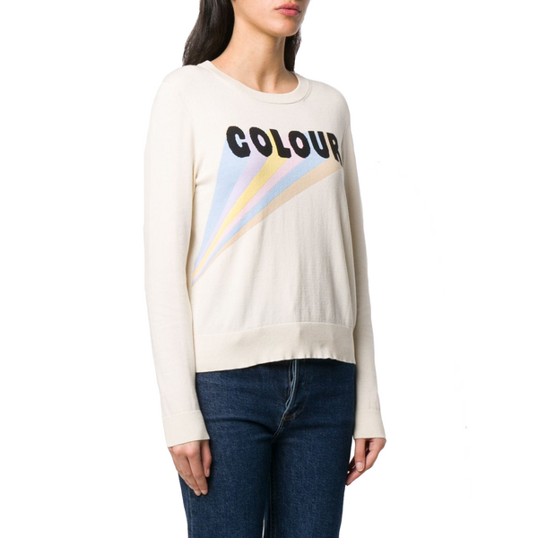 Colour Sweater Cream/Multi