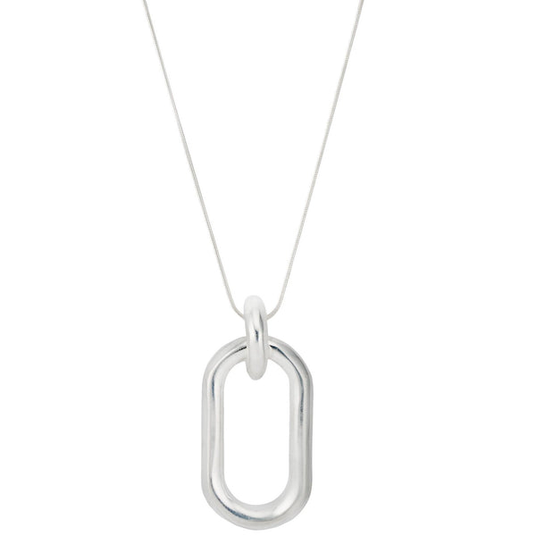 Beaumont Pendant Sterling Silver Necklace
