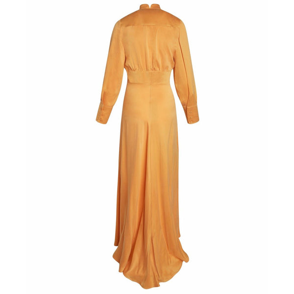 Flou Dress Tangerine