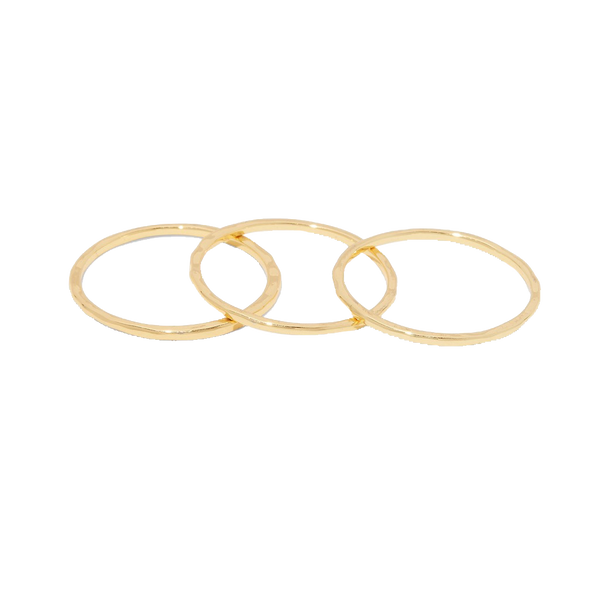 G Ring Set Gold