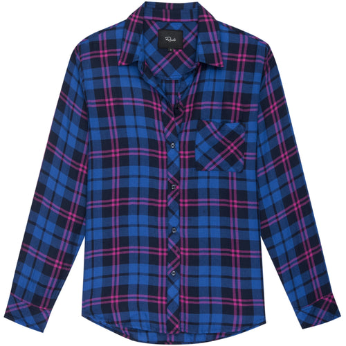 Hunter Long Sleeve Shirt Cobalt Punch